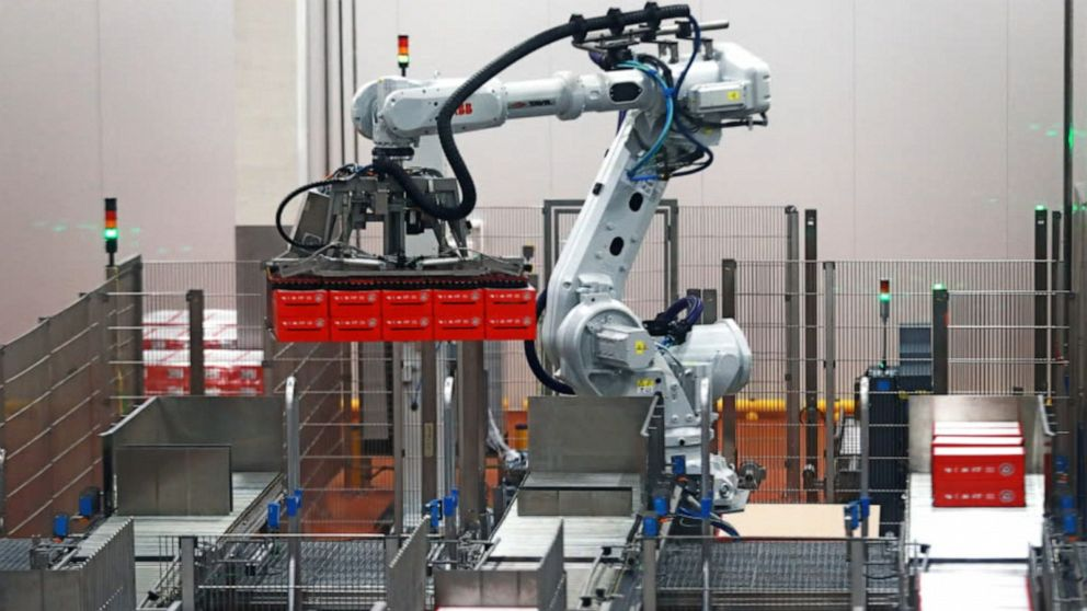 Robots could replace 20 million jobs by 2030