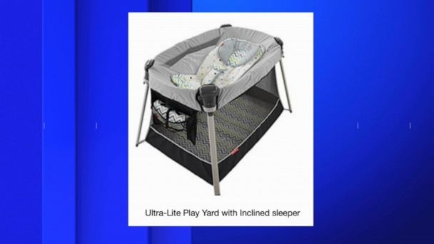 Fisher-Price recalls inclined sleeper accessory