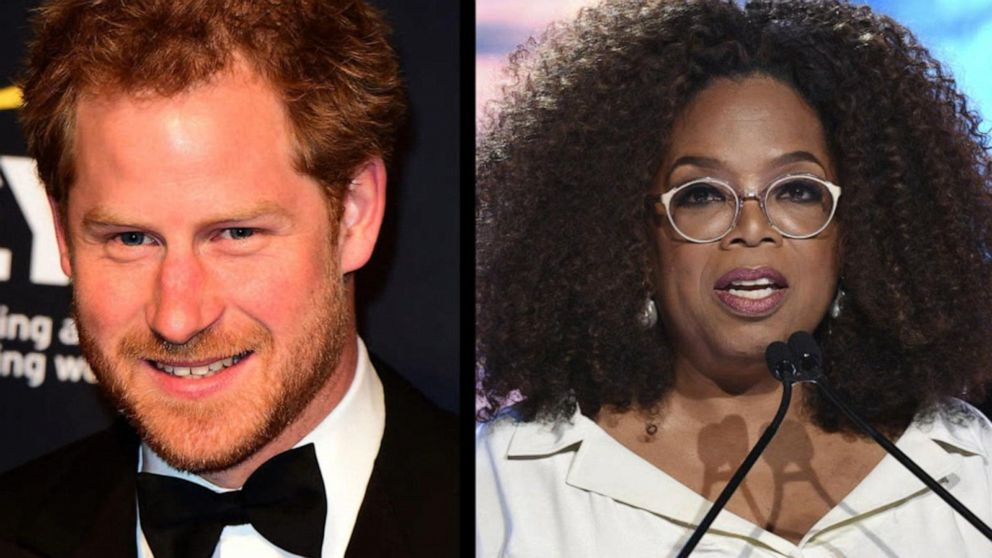 Oprah and Prince Harry team up for documentary series