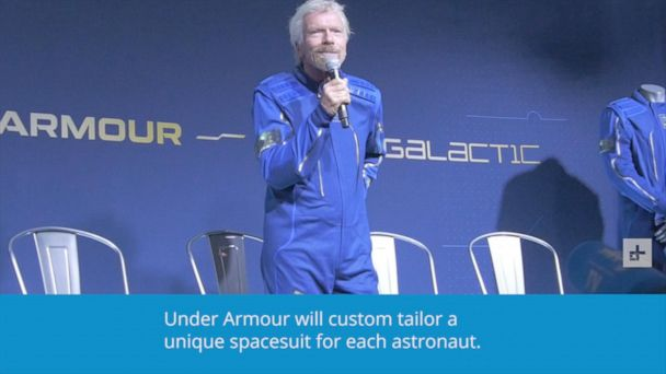 Virgin Galactic, Under Armour reveal new spacesuit