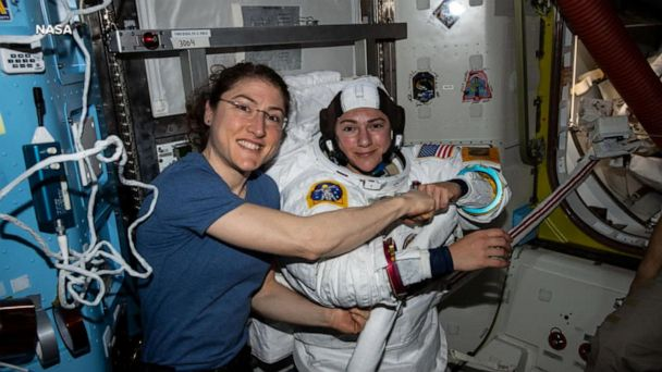 Astronauts to make history with all-female spacewalk