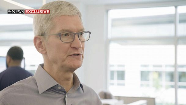 Tim Cook thinks 'people should be skeptical' of large companies