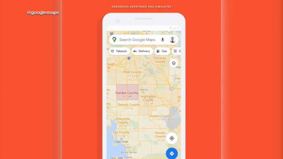 Google Maps rolls out new pandemic feature