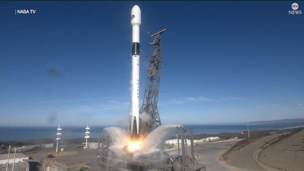 Lift off! Climate Change Satellite launches