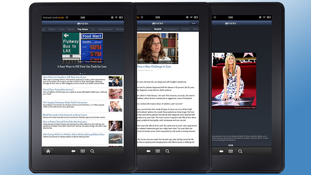 ABC News App Available in Amazon App Store for Kindle Fire - ABC News