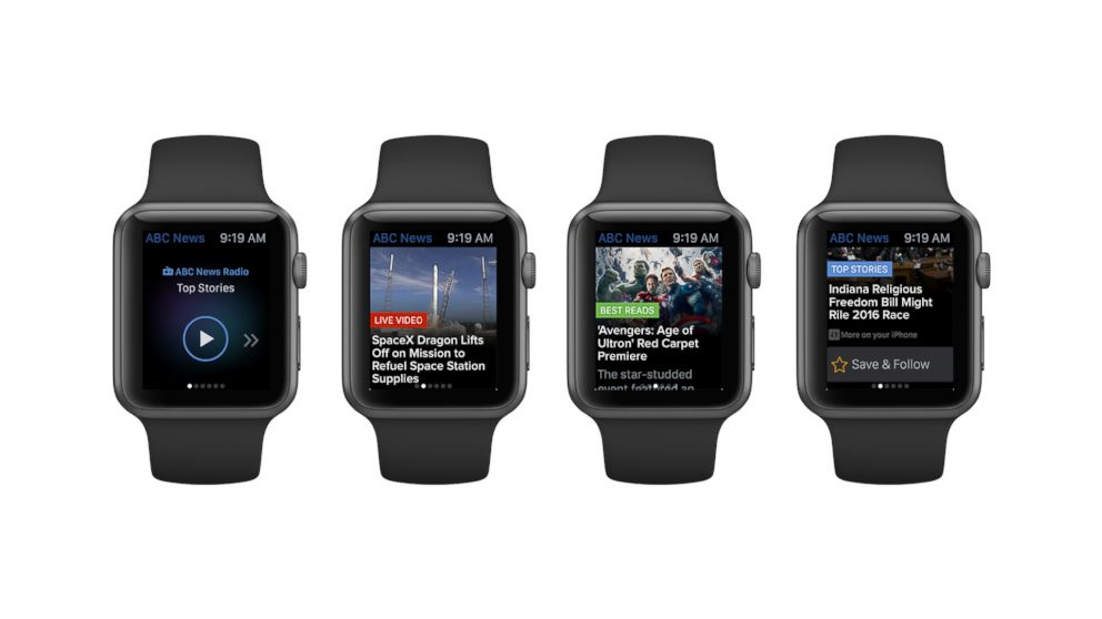 Introducing the ABC News app for the Apple Watch.