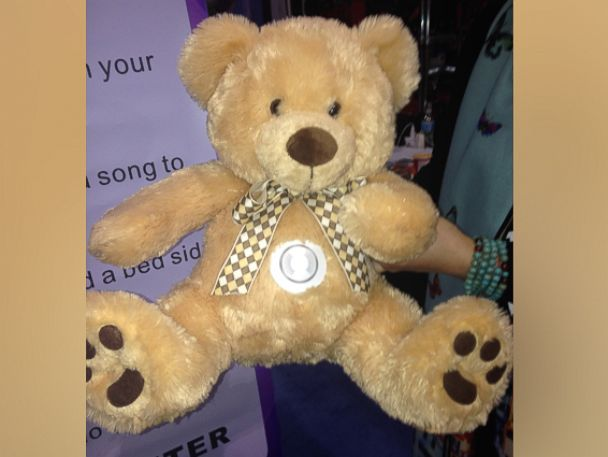 PHOTO: Chanter is a Wi-Fi enabled teddy bear.