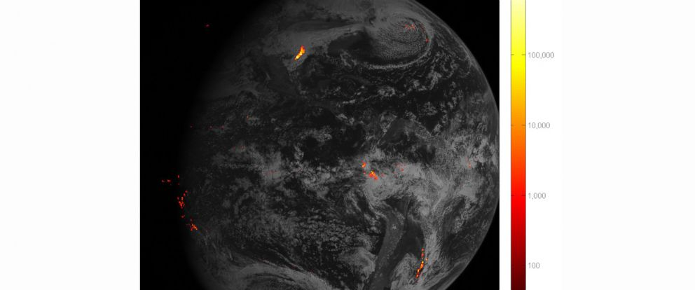 New NOAA Satellite Imaging Allows Unprecedented Tracking Of - Noaa world satellite map