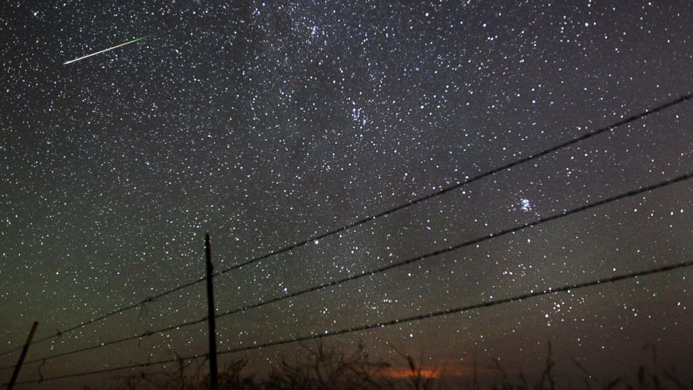 Perseid Meteor Shower Offers a Spectacle in the Sky