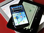 PHOTO: Samsung Galaxy S3 android phon