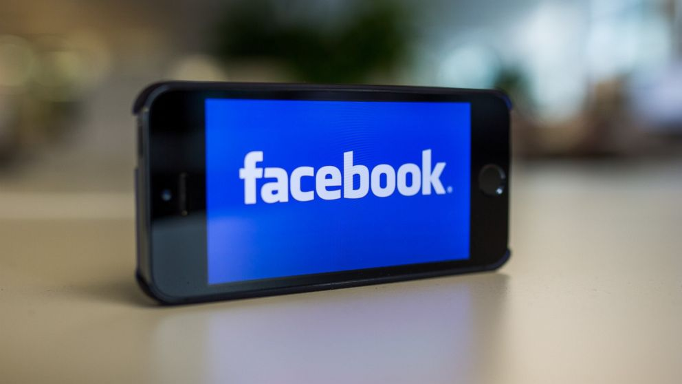 Facebook's logo is pictured on Oct. 31, 2014.