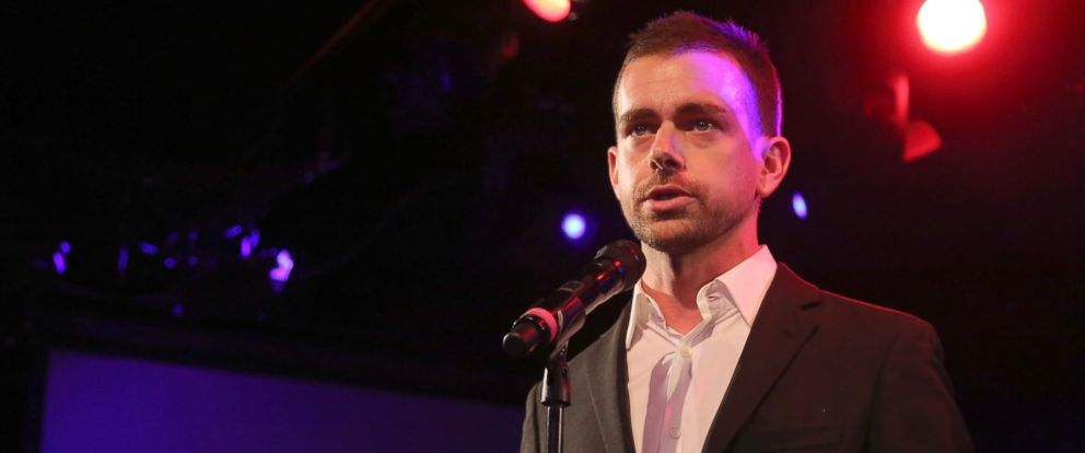 PHOTO: Twitter co-Founder Jack Dorsey speaks at a fundraiser in New York, April 24, 2013.