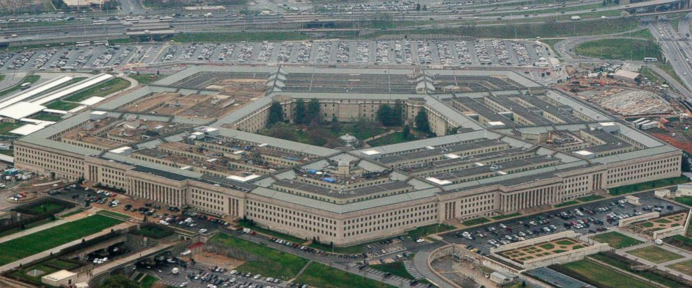 PHOTO: The Pentagon is seen in this aerial view in Washington, March 27, 2008.