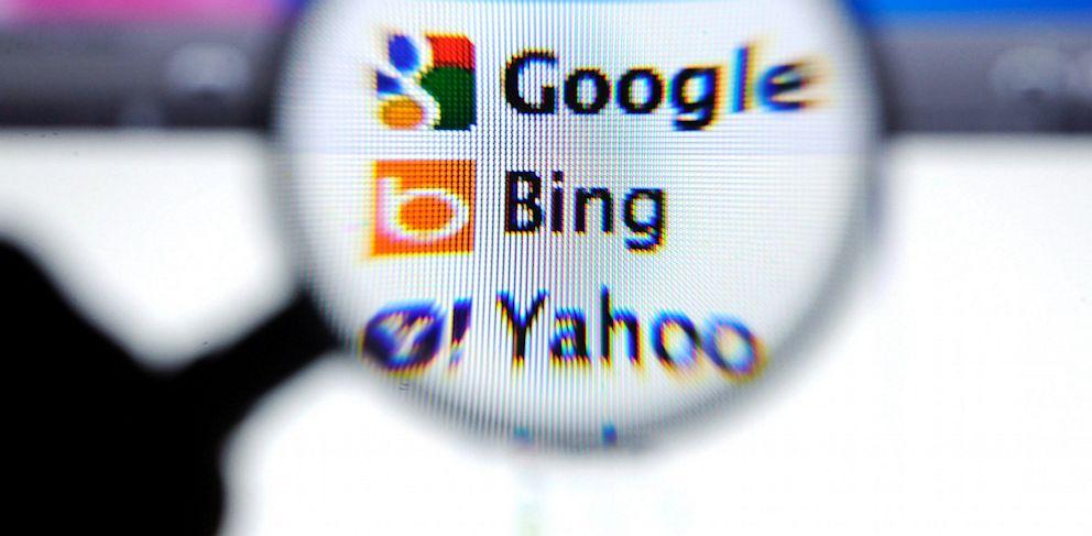 PHOTO: Google, Bing and Yahoo