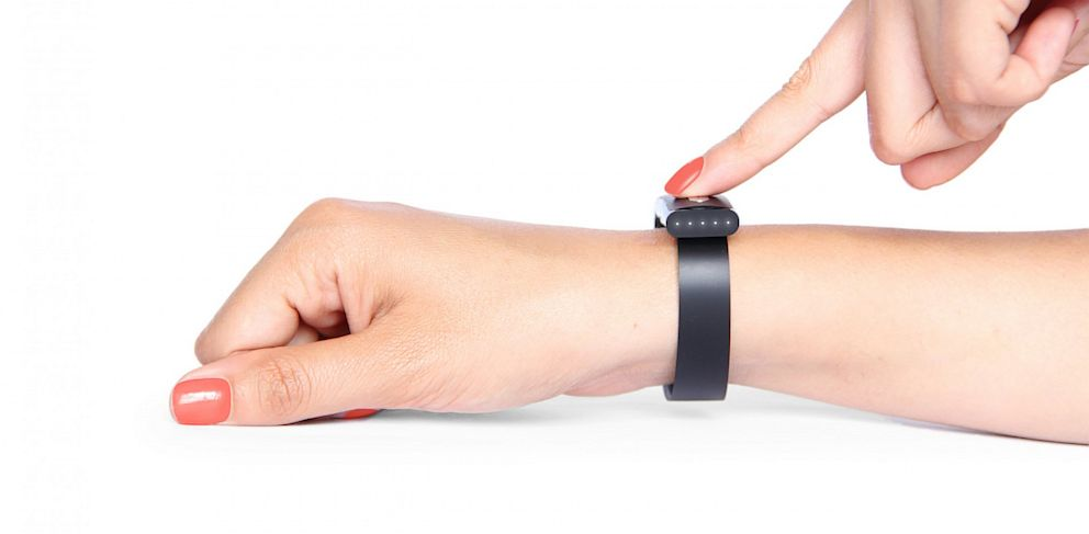 PHOTO: The Nymi bracelet promises to identify users based on their heartbeat.