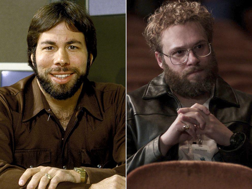 757096e450b PHOTO: Steve Wozniak, left, and Seth Rogen as Wozniak in a scene from
