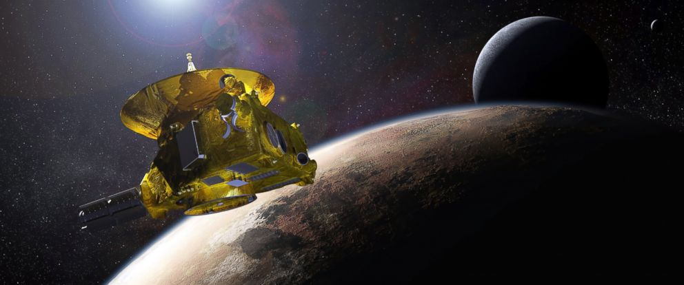 New Horizons Space Probe Delivers First Images of an Icy World Since Pluto Flyby