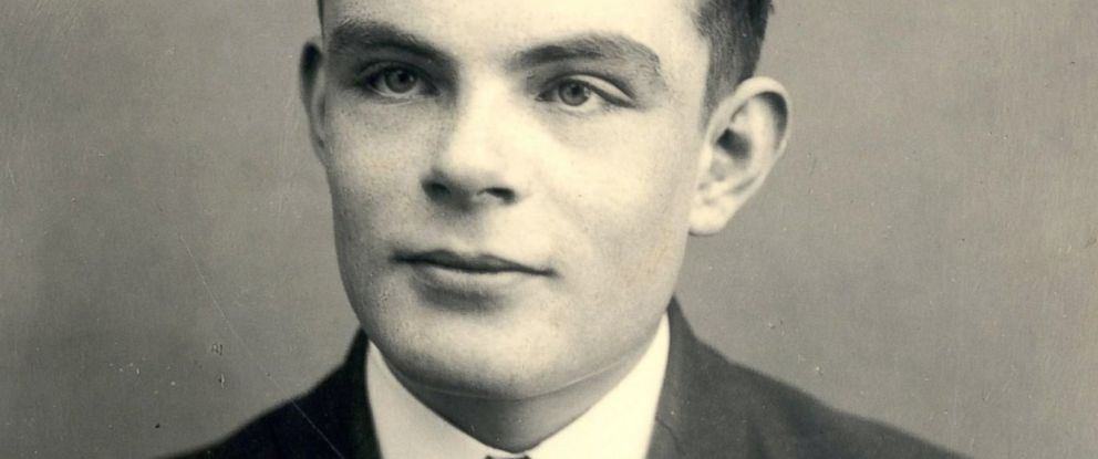 PHOTO: Alan Turing is seen in this undated file photo.
