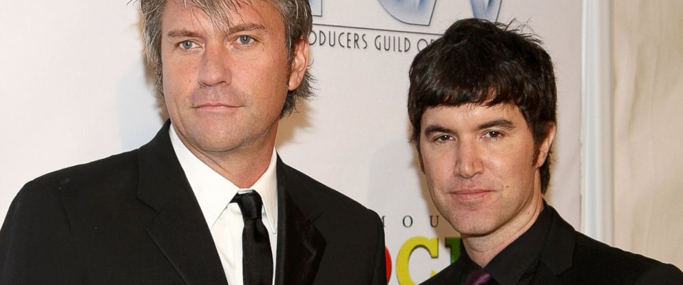 PHOTO: Chris DeWolfe and Tom Anderson arrive at the 20th Annual Producers Guild Awards held at the Palladium, Jan. 24, 2009, in Hollywood, Calif.