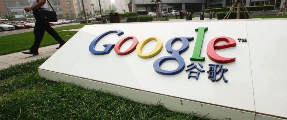 PHOTO: A pedestrian walks past Google Inc.s China headquarters in Beijing, China in this June 29, 2010 file photo.