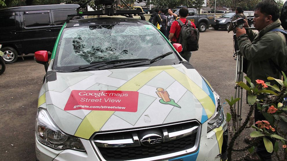 Google Maps: Street View Car Involved in Three Traffic Accidents ...