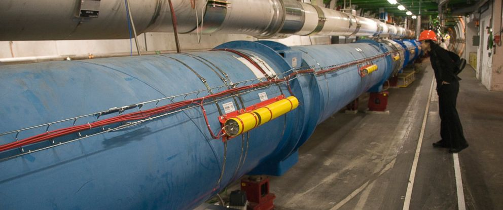 PHOTO: The Large Hadron Collider in Geneva, SWitzerland is pictured in this undated stock photo.