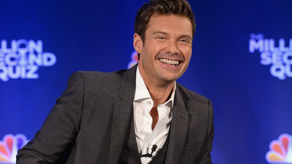 """Ryan Seacrest attends """"The Million Second Quiz"""" Cocktail Reception in New York, Aug. 28, 2013."""