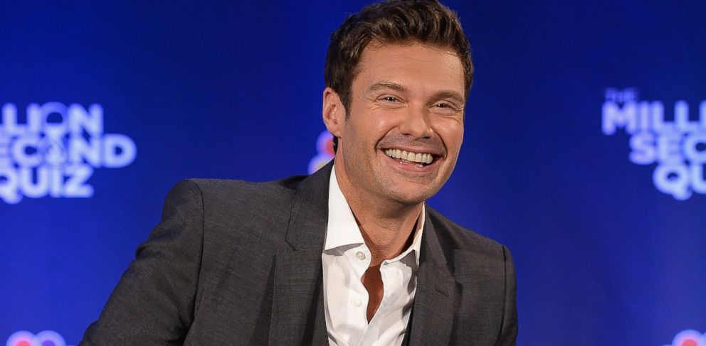 """PHOTO: Ryan Seacrest attends """"The Million Second Quiz"""" Cocktail Reception in New York, Aug. 28, 2013"""