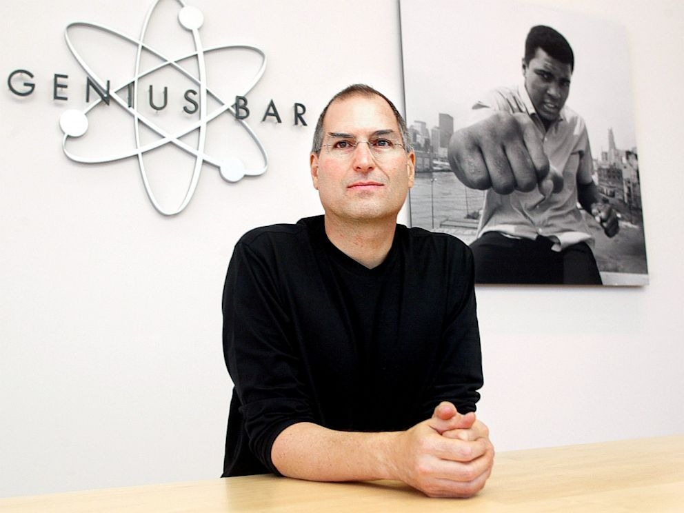 PHOTO: Apple CEO Steve Jobs
