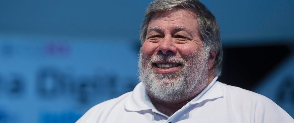 PHOTO: Steve Wozniak, co-founder of Apple Inc. and chief scientist of Primary Data, smiles at Telcels Digital Village, hosted by Telmex and powered by Infinitum, in Mexico City, July 24, 2015.