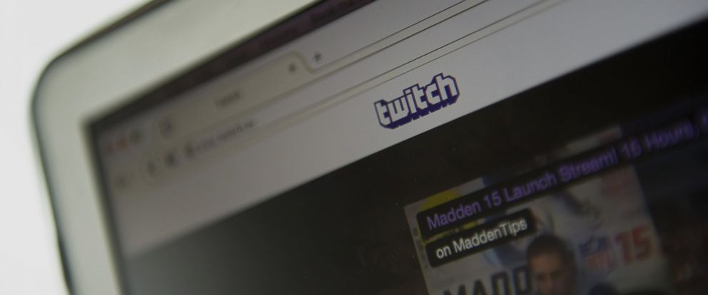 PHOTO: The Twitch Interactive Inc. website is displayed on a computer in San Francisco, California