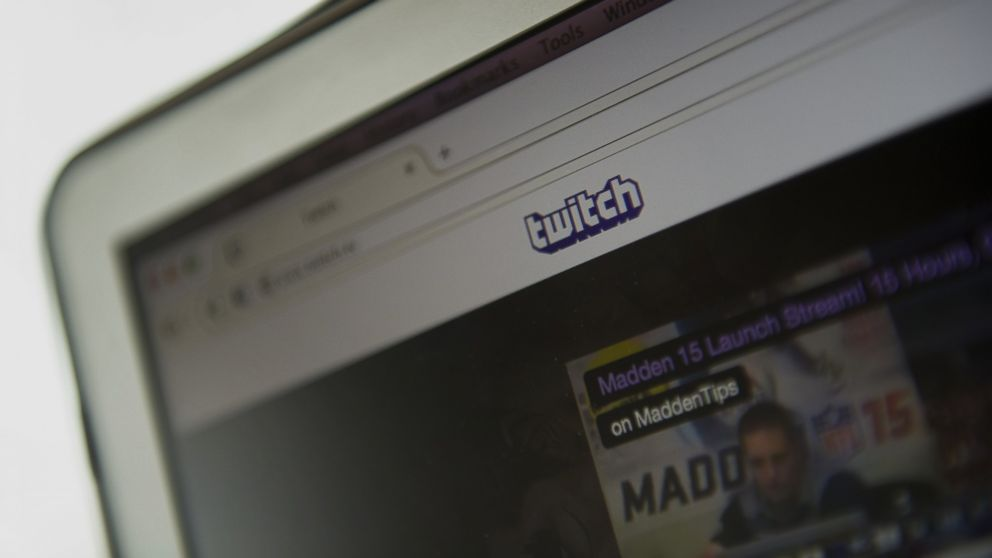 The Twitch Interactive Inc. website is displayed on a computer in San Francisco, California, Aug. 25, 2014.