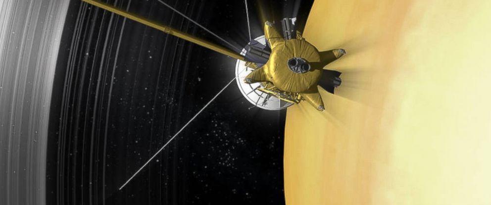 NASA's Cassini Spacecraft Begins 'Ring Grazing' Orbits ...