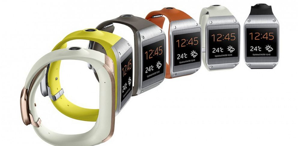PHOTO Samsungs Galaxy Gear Smartwatch Comes In Multiple Colors Samsung