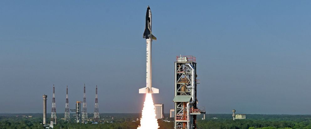 PHOTO: On May 23, 2016 ISRO (Indian Research Space Organization) successfully flight tested India's first winged body aerospace vehicle operating in hypersonic flight regime.