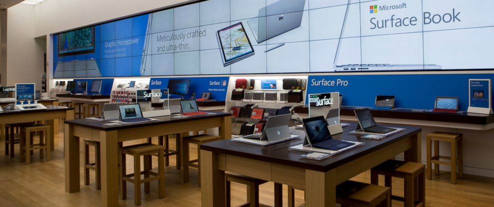 Inside Microsoft's New Store on 5th Avenue - ABC News