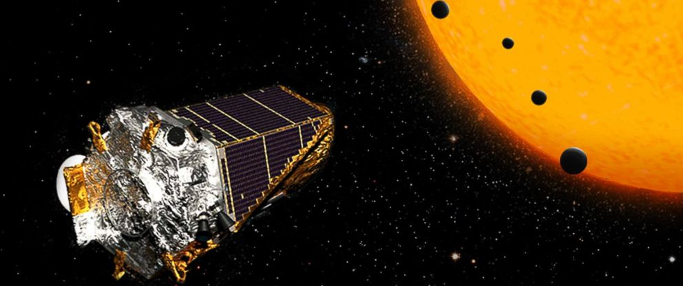PHOTO: This artists concept shows NASAs Kepler Space Telescope on its K2 mission.