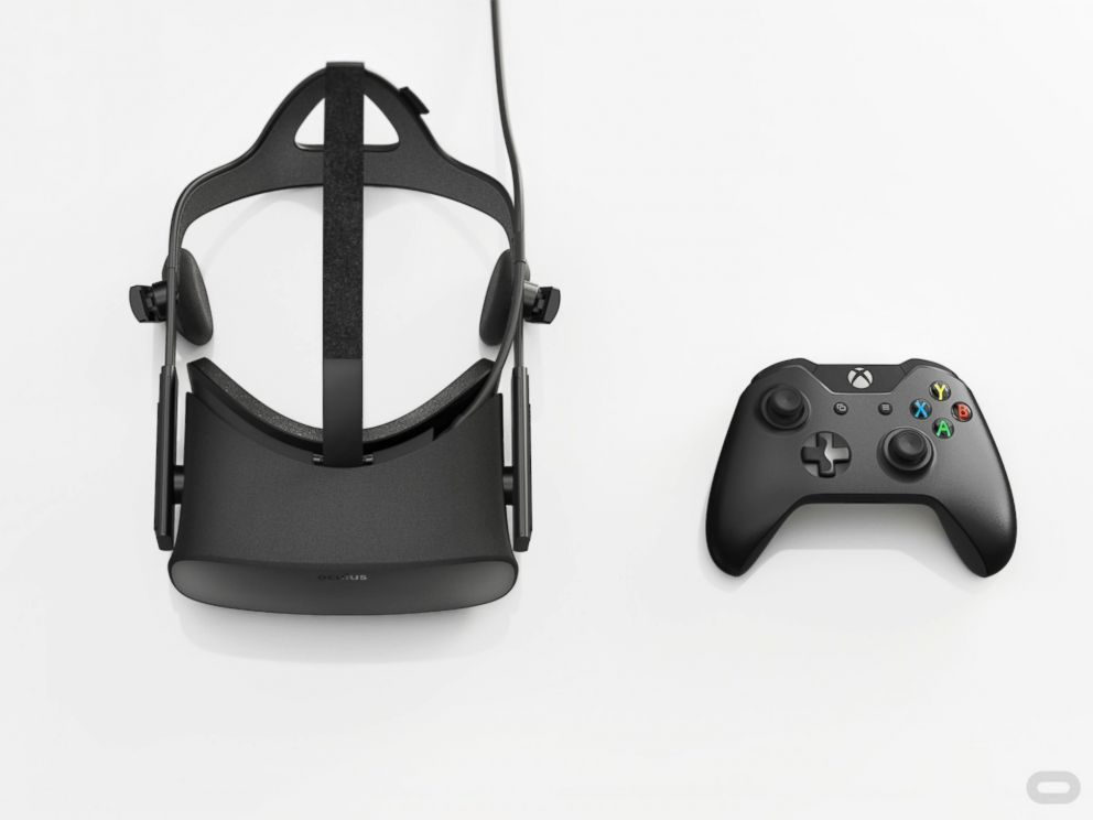 PHOTO:The Oculus Rift is pictured in this undated file photo.