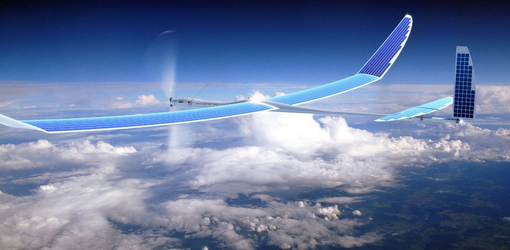 PHOTO: Facebook may use drones to bring better internet around the world.