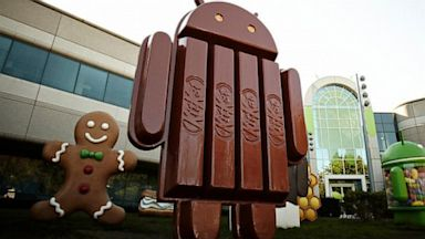 PHOTO: next version of Android -- called KitKat
