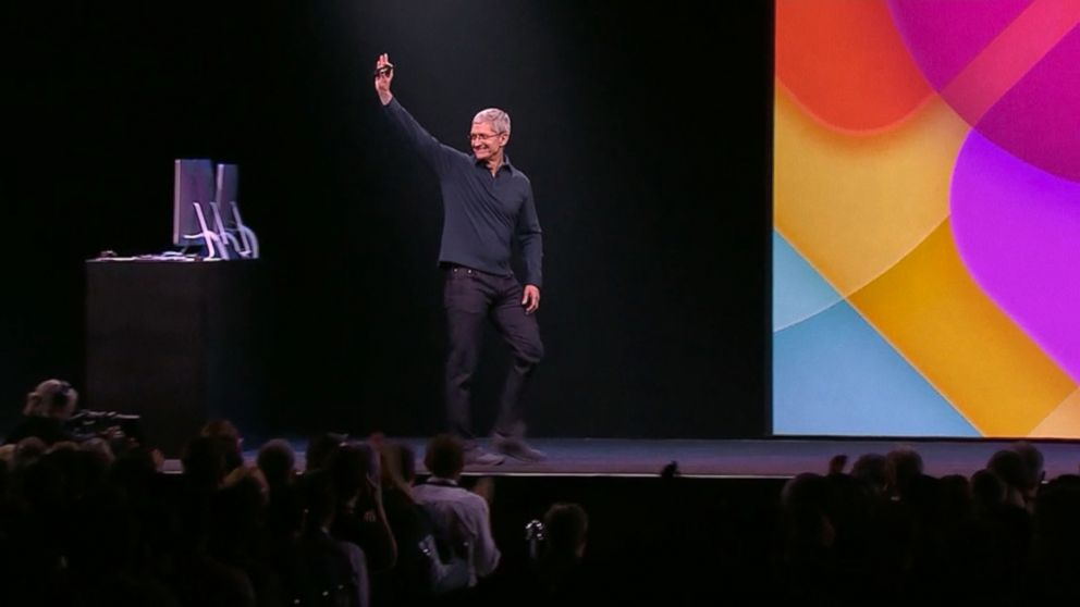 Apple's Worldwide Developers Conference at Moscone Center in San Francisco.