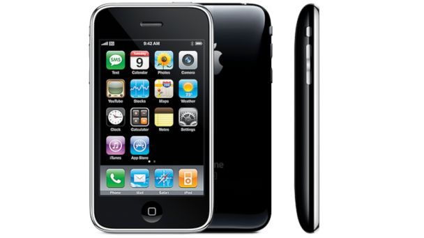 PHOTO: The Apple iPhone 3G.