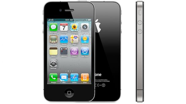 PHOTO: The Apple iPhone 4.