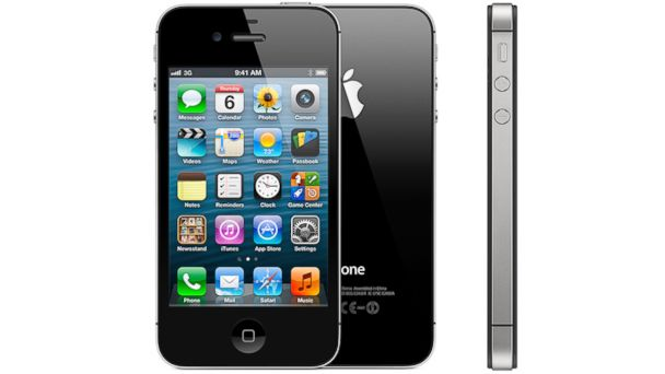 PHOTO: The Apple iPhone 4S.