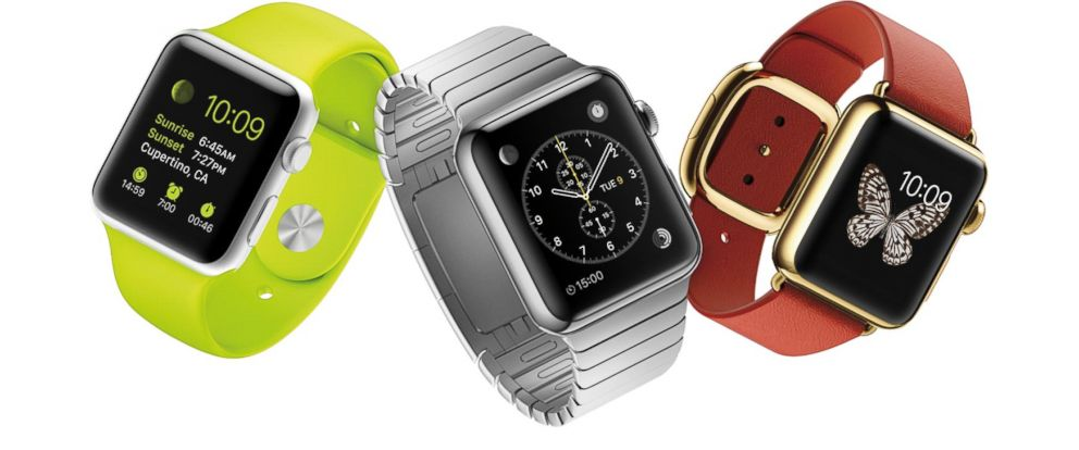 PHOTO: The Apple Watch is seen in this promotional image.