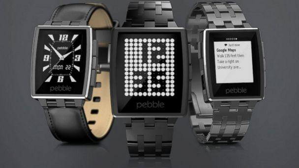 PHOTO: Pebble Steel Smartwatch