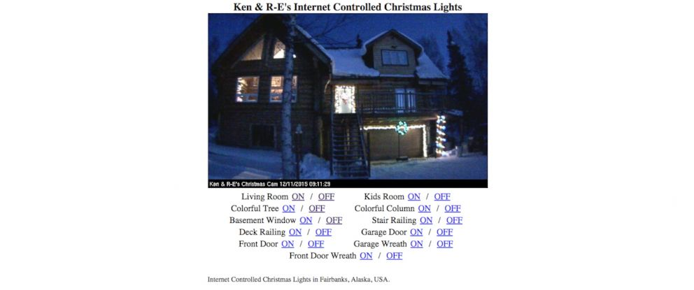 Photo Ken Woods Lets Visitors To His Website Control Christmas Lights