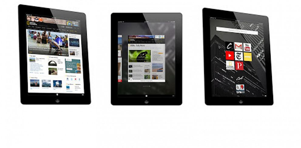 PHOTO: Coast by Opera is an app for the iPad
