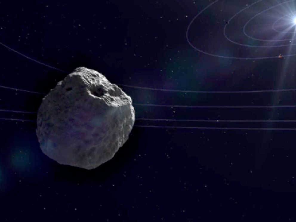PHOTO: In this animation video released by NASA, comet Siding Spring is on a near-miss route toward Mars.