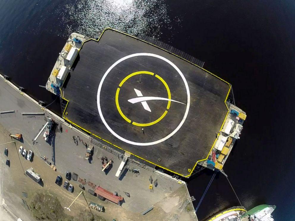PHOTO: The autonomous spaceport drone ship platform.